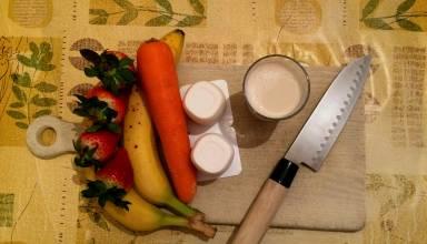 Carottes, bananes et fraises 1 (modifié photofiltre)